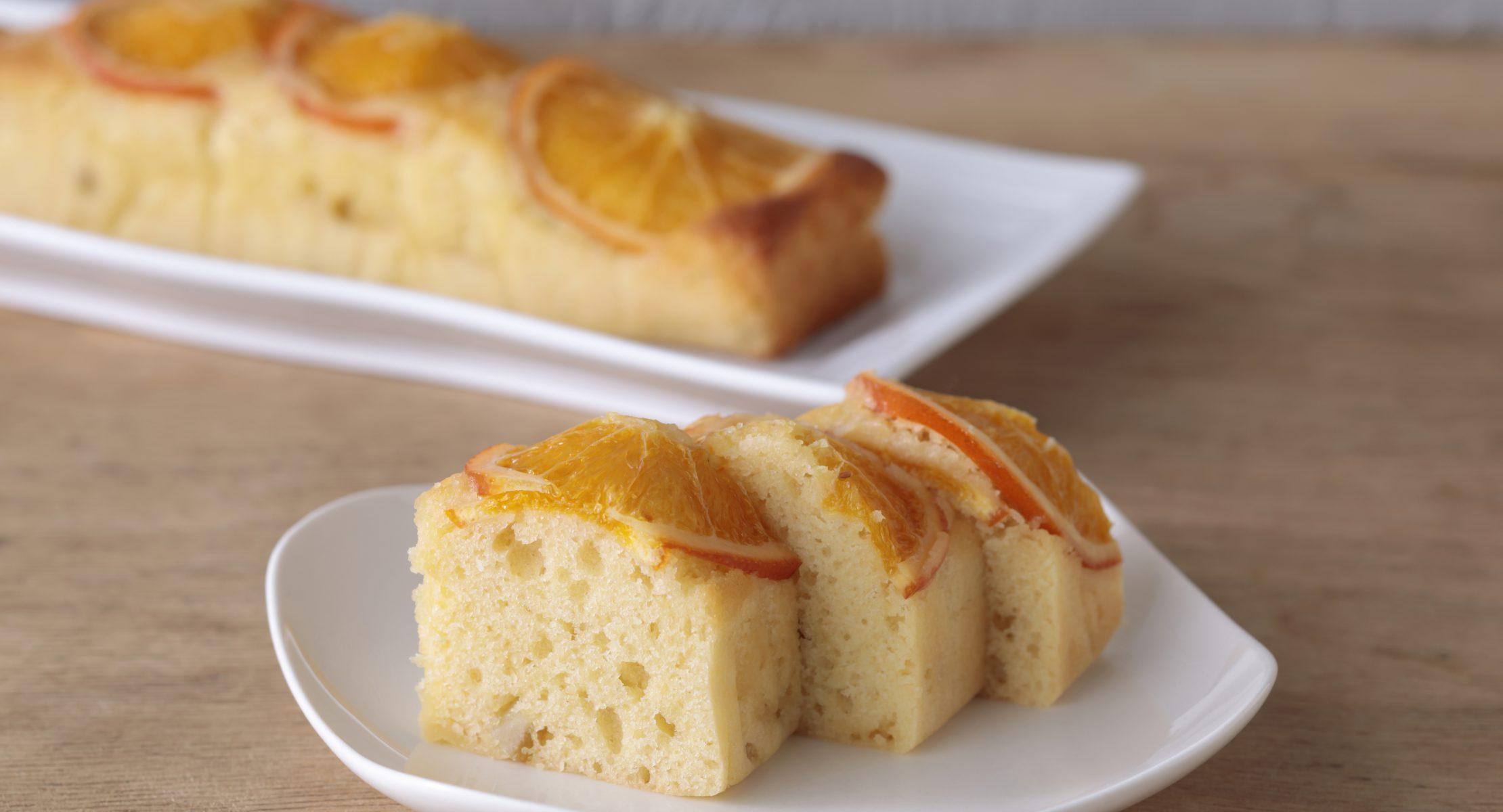 ご褒美柑橘ケーキ